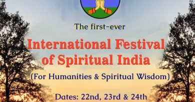 International Festival of Spiritual India (IFSI) – February 2019